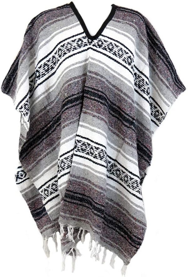 traditional mexican poncho