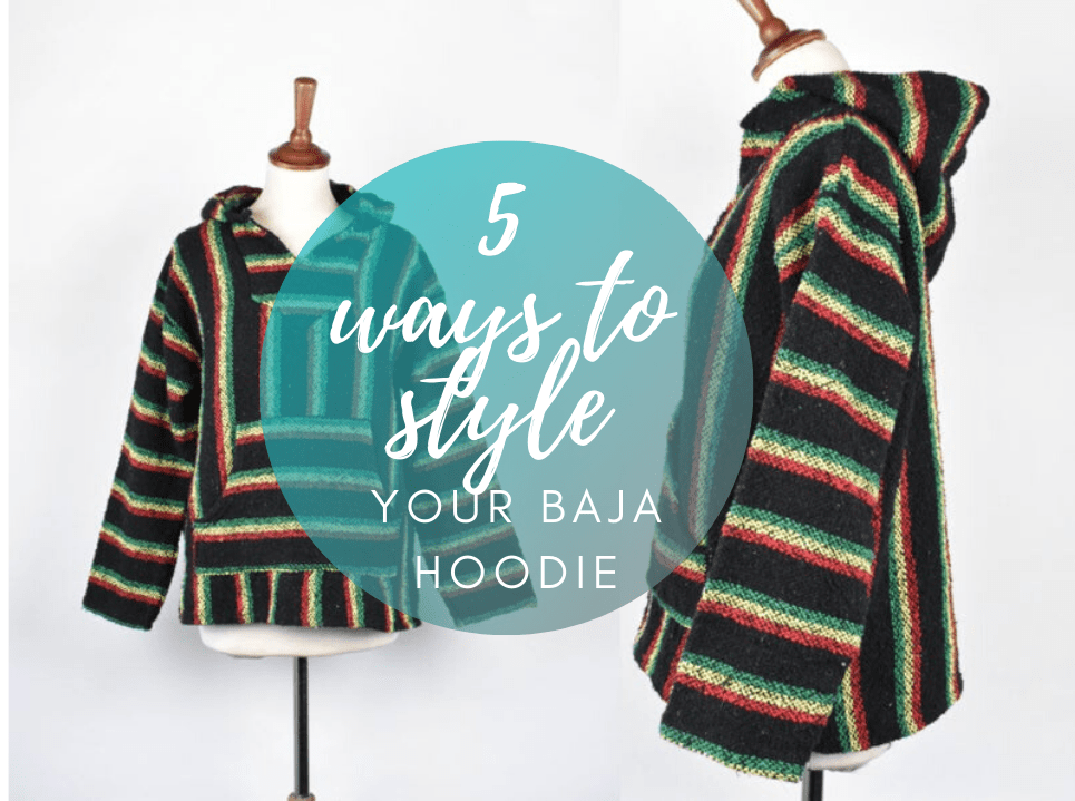 5 TRENDIEST Ways You Can Style Your Baja Hoodie