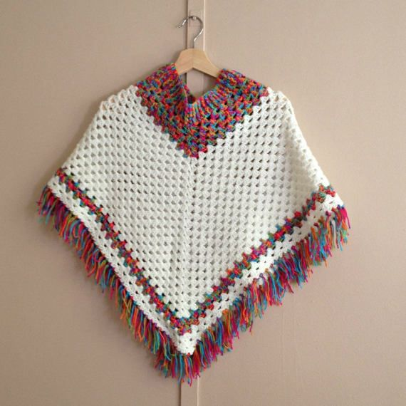 homemade mexican poncho