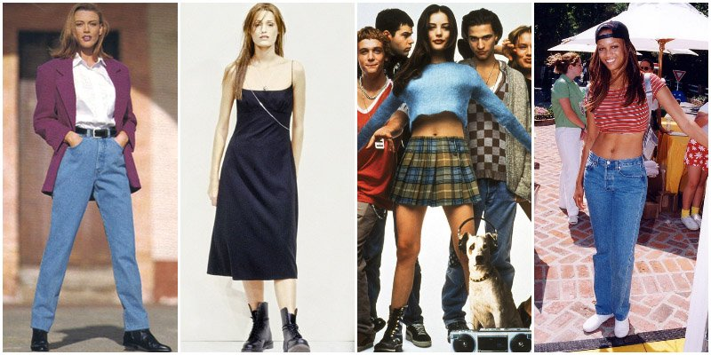 90s Fashion that Exist Today【Cool and Intimidating】